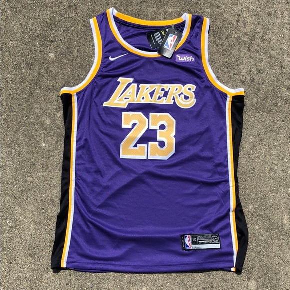 detailing cd9d9 cdc70 Los Angeles Lakers Nike LeBron James Jersey NWT